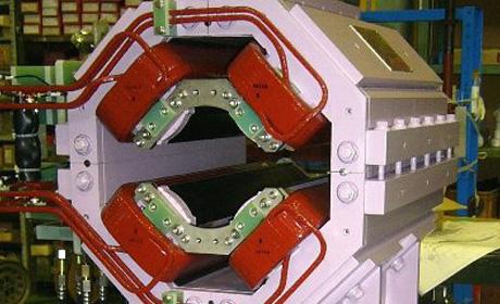4極電磁石(3) (HCICF)